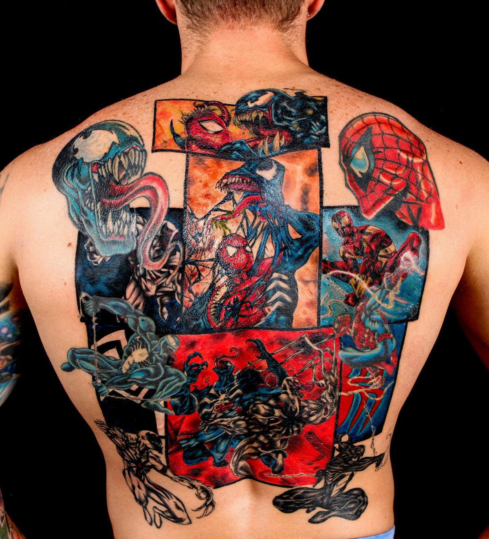 Tatouage Spiderman Marvel