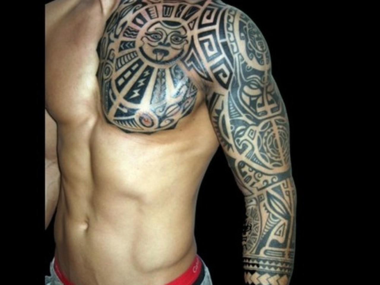 Dessin Tatouage Bras Homme