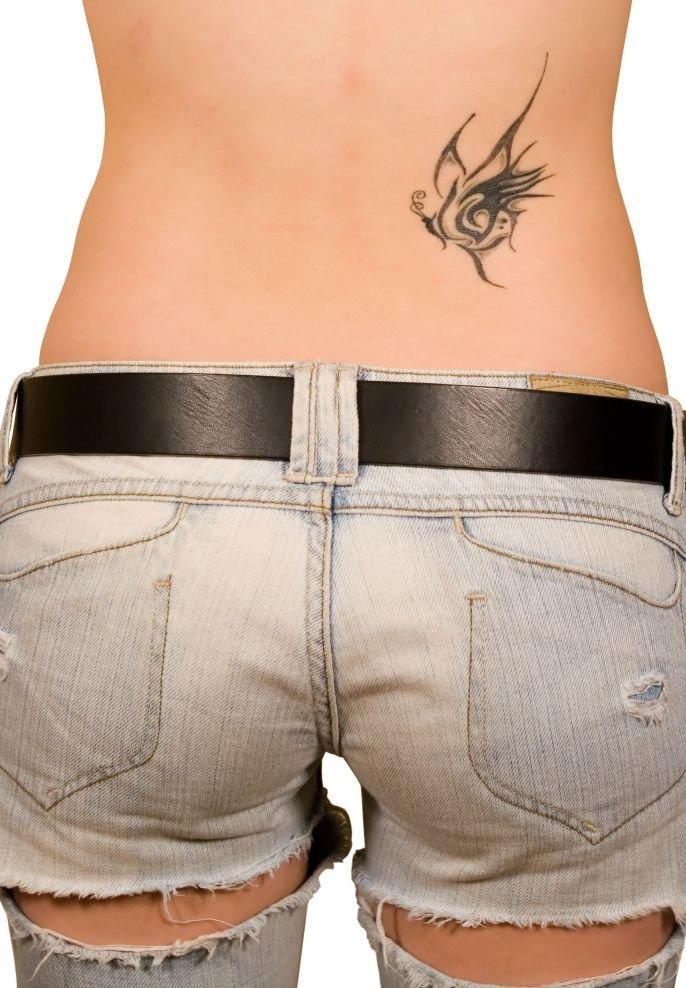 Tatouage Femme Bas Du Dos Discret